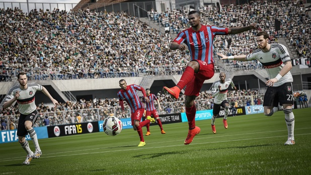 fifa15_xboxone_ps4_turkeysuperlig_besiktas_vs_trabzonspor_wm Mikel San Jose pulled a goal back in the 73rd minute
